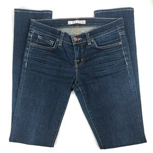 J Brand Petite Pencil Leg Jeans Ink Womens Size 26